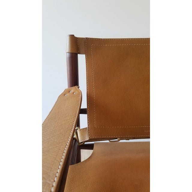 Wood Vintage Sirocco Chair by Arne Norell For Sale - Image 7 of 13