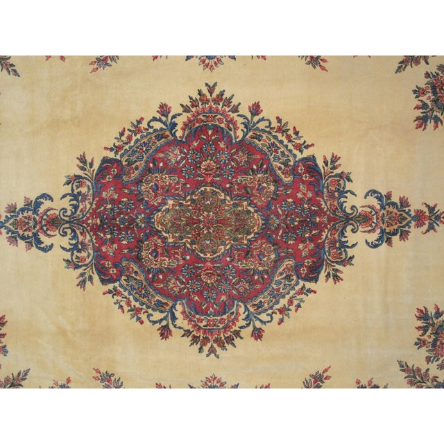 "Lavar Kerman Carpet - 9'6"" X 13'5"" - Image 5 of 7"