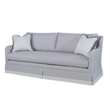 Century Furniture Corrie Skirted Sofa For Sale