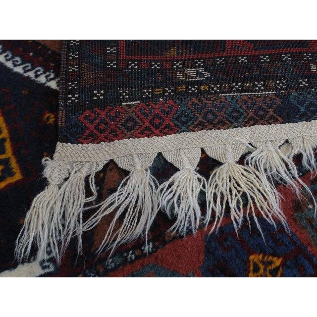 Antique Kurdish Rug For Sale - Image 9 of 10