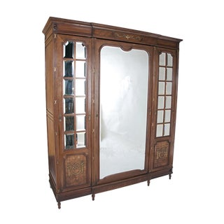 1910s French Belle Époque Cabinet For Sale