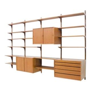 Poul Cadovius Teak Wall System Shelf Denmark 1956 For Sale