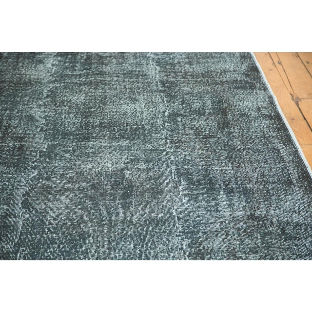 """Vintage Overdyed Distressed Runner - 5' X 13'3"""" - Image 6 of 10"""