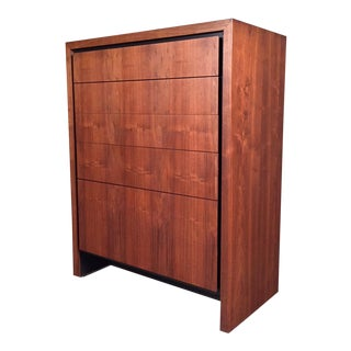 Dillingham Mid-Century Modern Walnut 6-Drawer Dresser / Chest