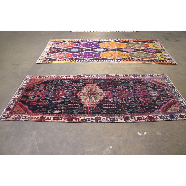 """Midnight in the Garden Persian Rug - 4'7"""" x 10'8"""" - Image 6 of 7"""