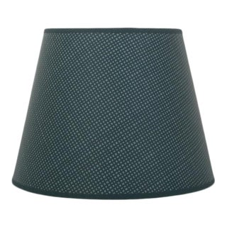 """Rita Konig Exclusive Hand Painted Round Lampshade in Dogtooth Color, 10"""""""