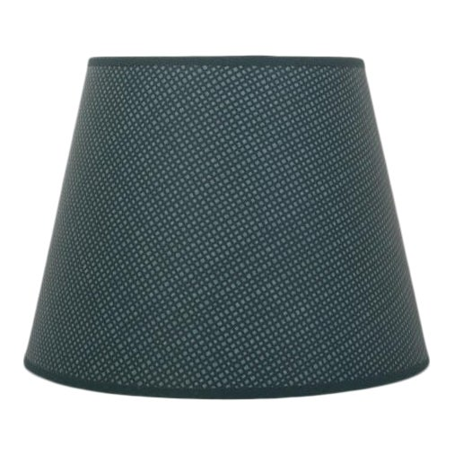 """Rita Konig Exclusive Hand Painted Round Lampshade in Dogtooth Color, 10"""" For Sale"""