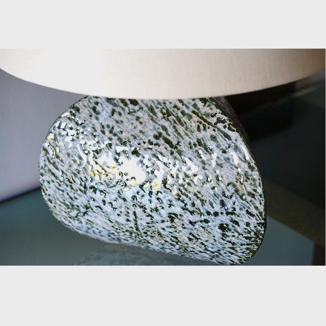 Titia Estes Belly Pot Table Lamp For Sale - Image 4 of 8