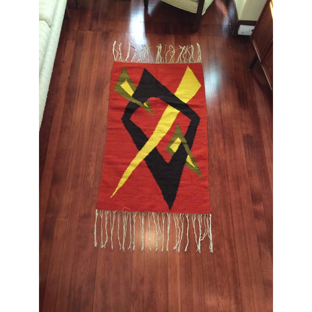 Tribal Accent Rug - 2′10″ × 4′9″ - Image 2 of 8