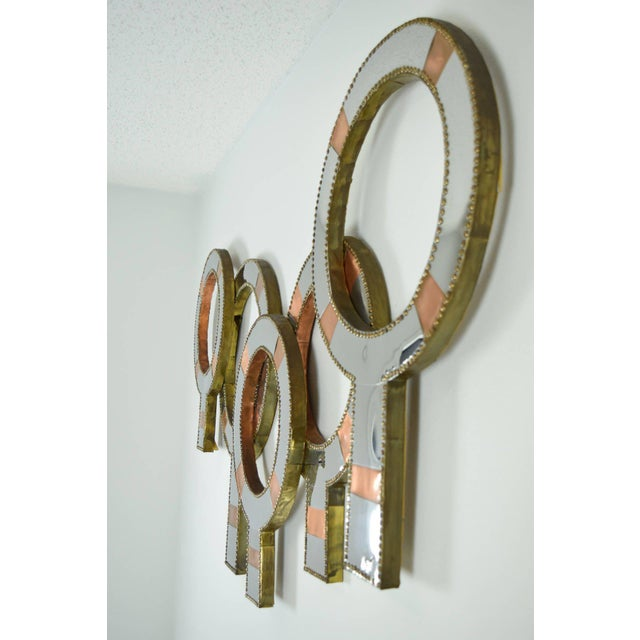Early 20th Century Interesting Metal Wall Sculpture For Sale - Image 5 of 7
