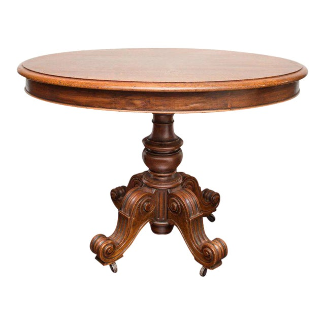 19th Century Louis Philippe Oval Table Normandy France For Sale