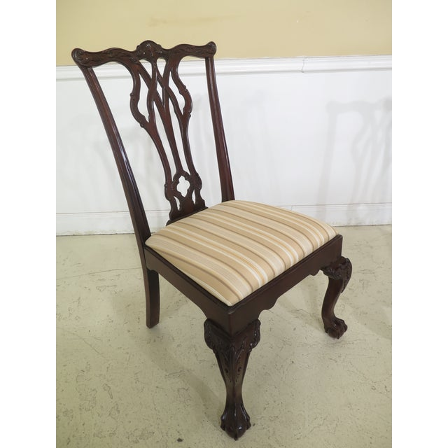 Century Chippendale Mahogany Ball Amp Claw Dining Chairs