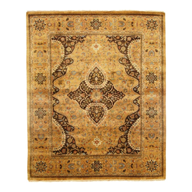 "Pasargad N Y Fine Serapi Design Hand-Knotted Rug - 7'10"" X 9'6"" For Sale"