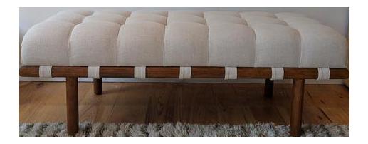 Modern Teot Custom Upholstered Bench Chairish