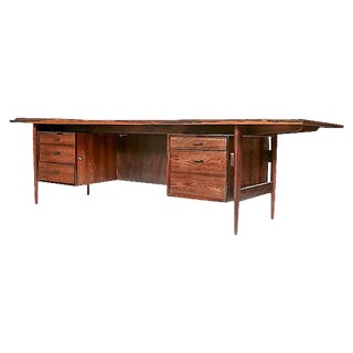 1960s Danish Rosewood Executive Desk