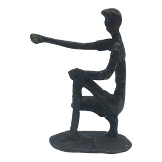 Vintage Bronze Sculpture For Sale