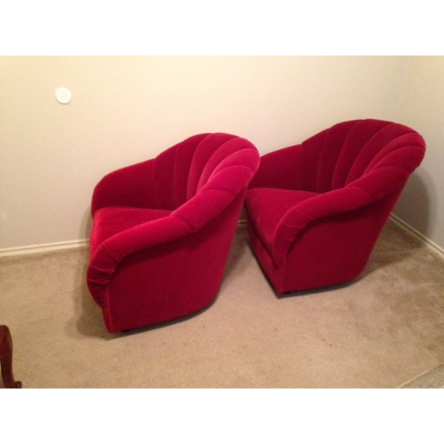 Brickel Ward Bennett Channel Back Chairs - A Pair - Image 3 of 5