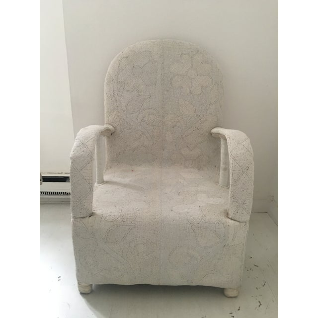 This beautiful white beaded chair was handcrafted and imported from West Africa. These are chairs that are made for...