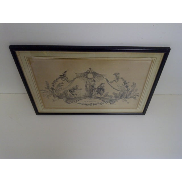 """""""La Coquette"""" by Apres Antoine Watteau Boucher For Sale In Pittsburgh - Image 6 of 7"""