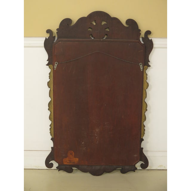 Kindel Georgian Style Mahogany Mirror For Sale - Image 9 of 11