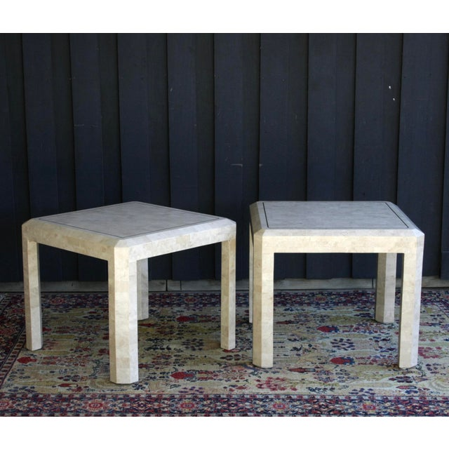 Maitland Smith Tessellated Marble Tables, a Pair For Sale - Image 13 of 13