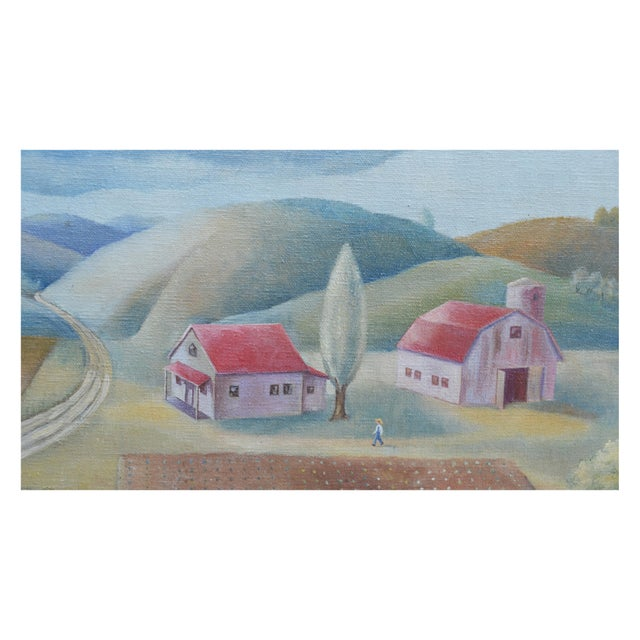 American Classical Country Landscape by Robert Fabian Butts For Sale - Image 3 of 5