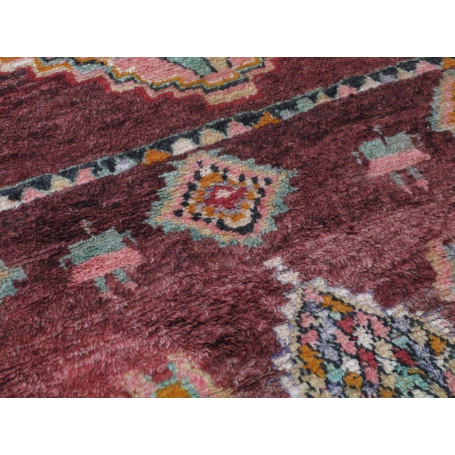 Moroccan Boujad Rug - 5′9″ × 11′8″ For Sale - Image 9 of 12