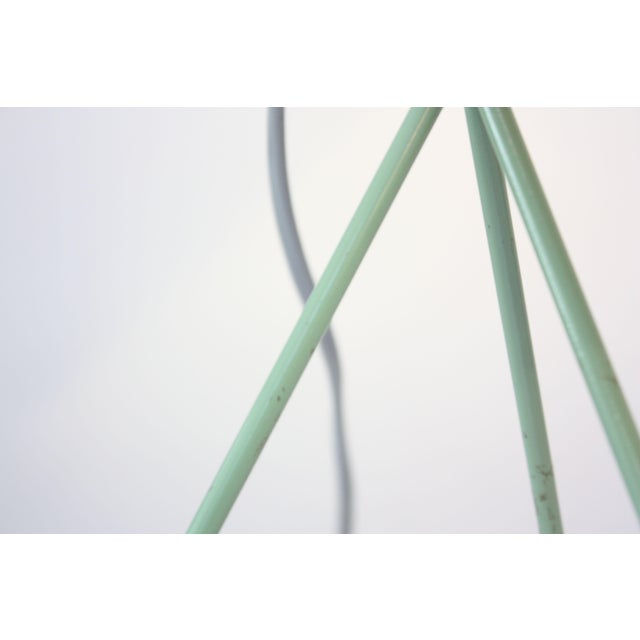 Mint Green Tripod Table Lamp by Josef Hurka for Napako For Sale - Image 11 of 13