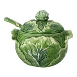 Image of Cabbage Tureen With Ladle For Sale