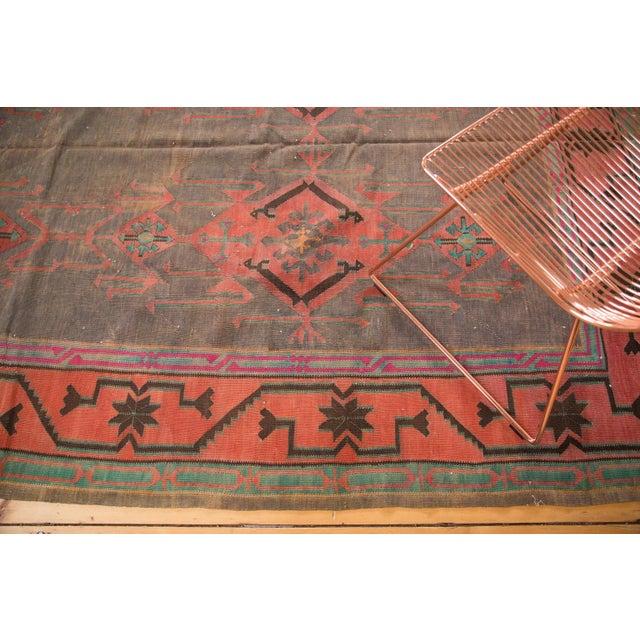 "Vintage Turkish Kilim Carpet - 6'1"" x 7'9"" - Image 3 of 5"