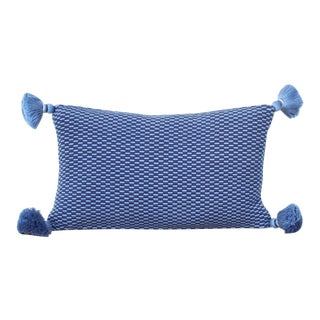 Ella Handwoven Rectangle Tassel Pillow