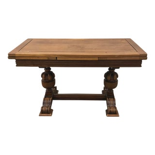 Vintage Draw Leaf Coffee Table For Sale