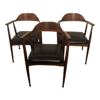 1950's Ciraca Mid-Century Captain Chairs - Only 2 Left For Sale