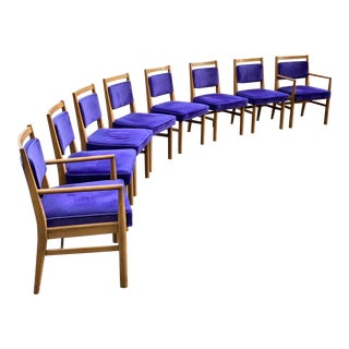 Renzo Rutili Dining Chairs - Set of 8 For Sale