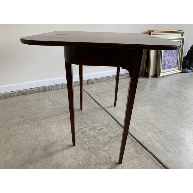 Antique Mutual Furniture Co. Flip Top Mahogany Card Table For Sale - Image 10 of 12