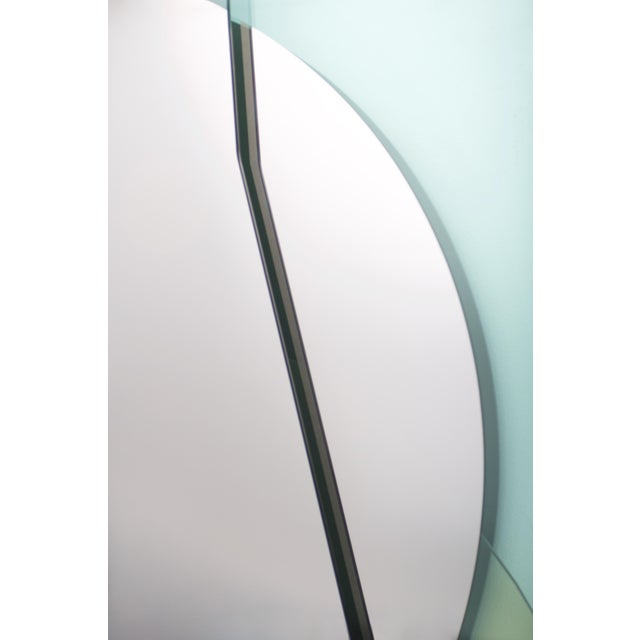 Modern Glass Repeated Mirror I by Oskar Peet and Sophie Mensen For Sale - Image 3 of 8