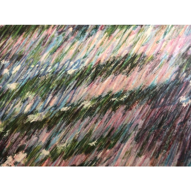 If you love Impressionist and abstract works of art, this limited edition is calling your name. Lush pastel tones, botanic...