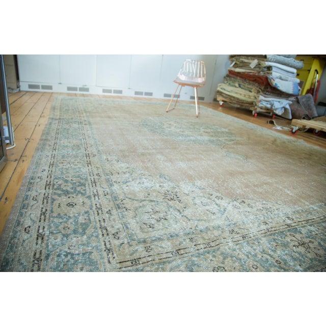 "Vintage Turkish Oushak Carpet - 9'6"" x 13' - Image 3 of 8"