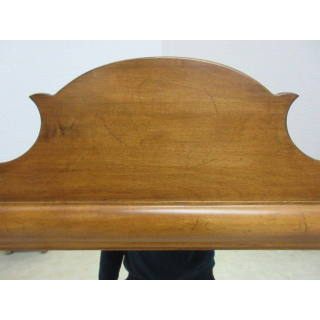 1776 Ethan Allen Dresser Hanging Wall Mirror For Sale - Image 9 of 10