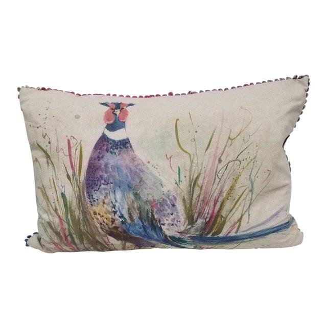 Game Bird Lumbar Pillow For Sale