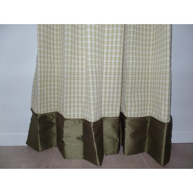 Custom Draperies - a Pair For Sale In Tampa - Image 6 of 8