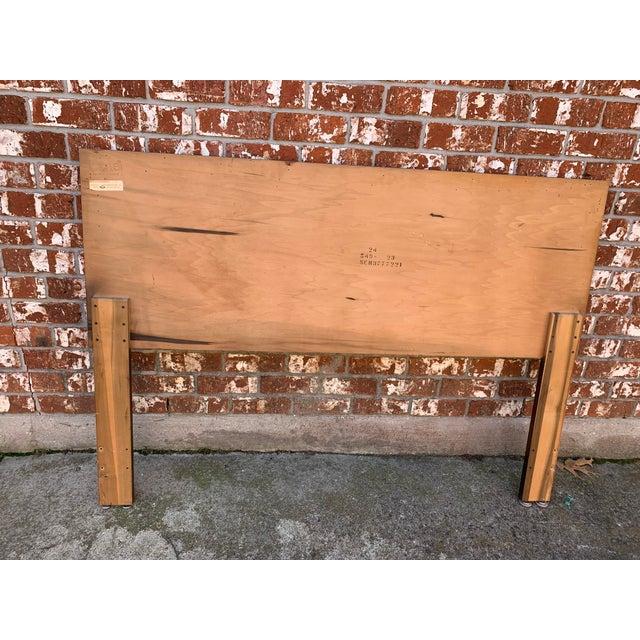 Lane Furniture 1960s Mid-Century Modern Lane Furniture Queen Headboard For Sale - Image 4 of 5