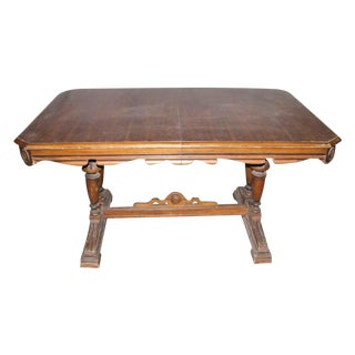 Walnut Dining Room Table For Sale
