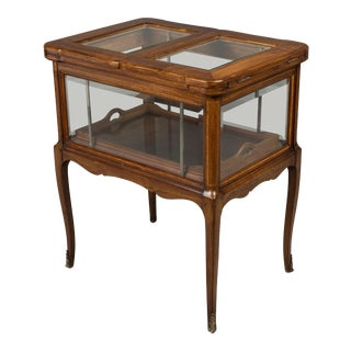 1930s Antique French Bar Cabinet For Sale