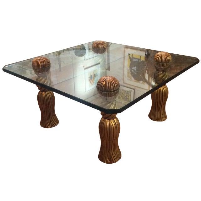 Phyllis Morris Tassel Cocktail Table - Image 1 of 8