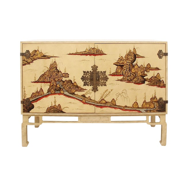 1960s Ming Style Cabinet by Beacon Hill For Sale