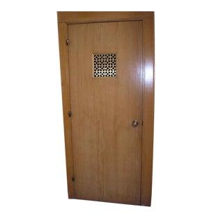 Oak Chapel Door With Knuckle Hinges