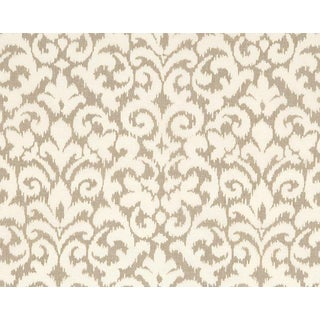 Hinson for the House of Scalamandre Swirl Fabric in Beige For Sale