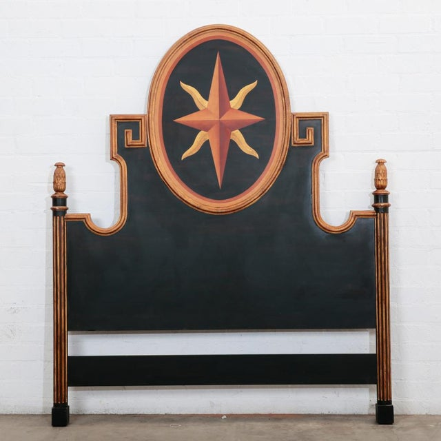 Spanish Las Palmas Collection Italian Queen Headboard For Sale - Image 3 of 4