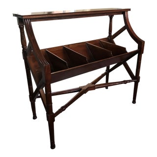 Solid Wood Library Shelf